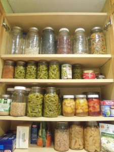 This is an actual photo of one of my cupboards in my kitchen.