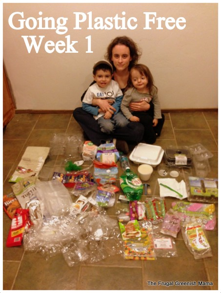 Show Your Plastic Challenge: Week 1