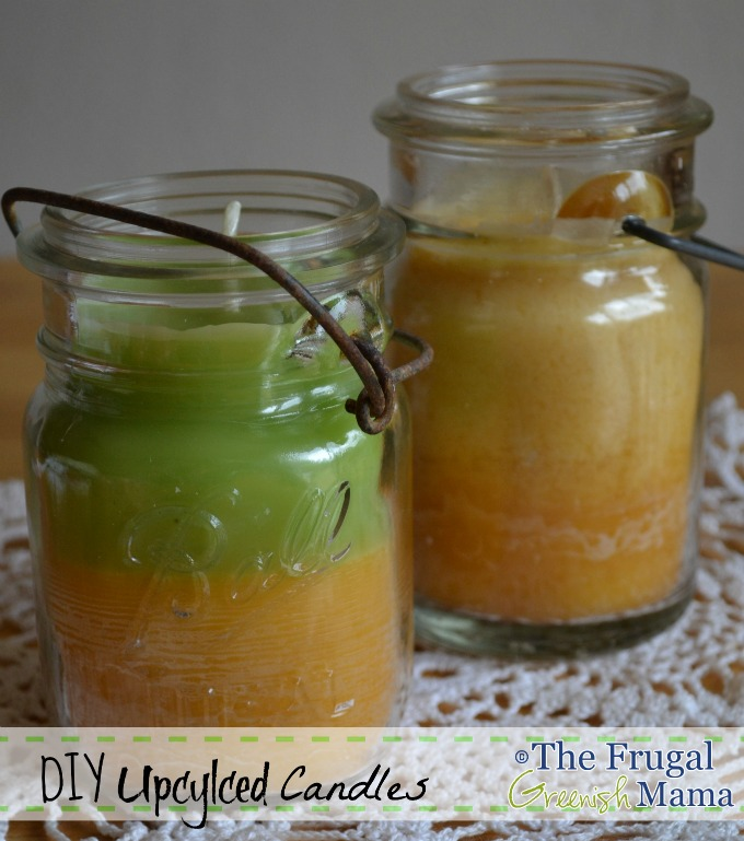 Repurposing Glass Jars Into Homemade Candles