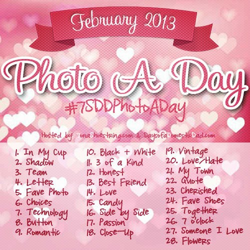 February Photo a day challenge 2013 Instagram