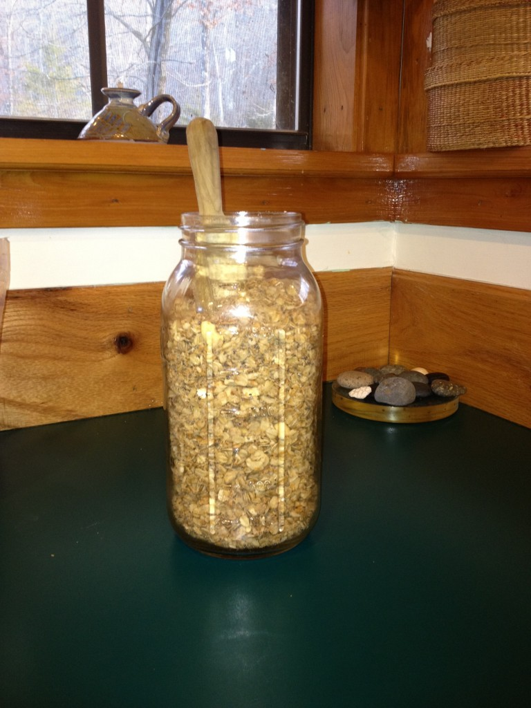 Plastic Free Granola by the Jar