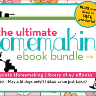 The Ultimate Homemaking Bundle $640 Worth for only $24.97