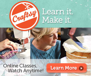 Free Craftsy Class up to $39.99 – 5/18/13 Only!