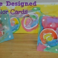 Make Your Own Handmade Designed Watercolor Cards