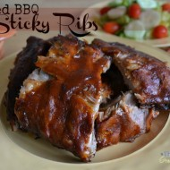 Enjoying Your Family Time in the Kitchen with Netflix Plus Sticky Ribs Recipe