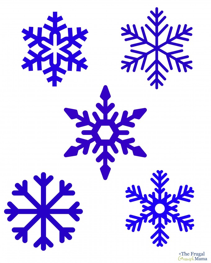 Snowflake Writing Template Writing Template Pictures to pin on ...