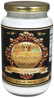 Free Coconut Oil from Tropical Traditions with Purchase
