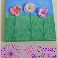 Creating Canvas Wall Art with Crayola