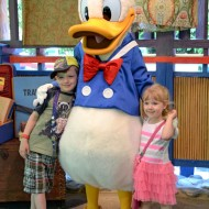 Taking on Disney, Solo with Children