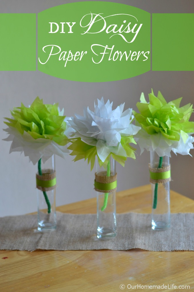 How to make paper flowers from tissue paper our homemade life mightylinksfo
