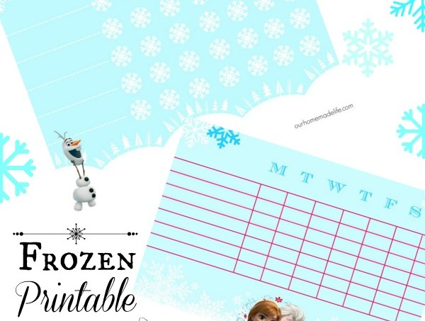 Frozen Printable Chore Charts Blog #ad #EurekaPower
