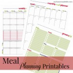 meal planning printable images