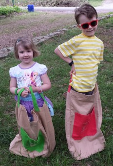 pacific play tents kids in sacks