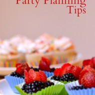 Simple Party Planning Tips {Plus Printable}